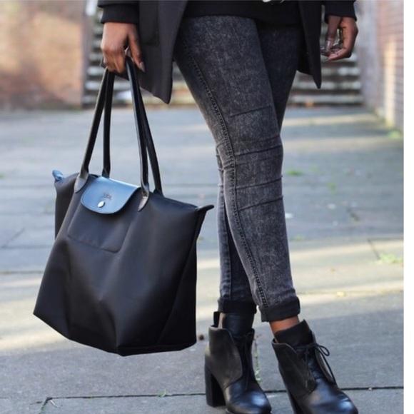 8f3e92a4a5bd Longchamp Handbags - Large Le Pliage Neo' Nylon Tote LONGCHAMP